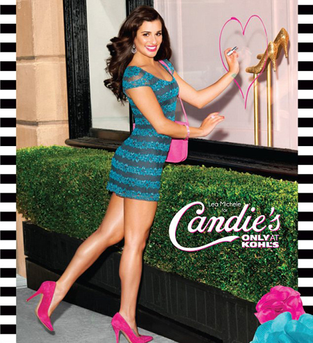 Lea Michelle, sexy in campania de toamna Candies